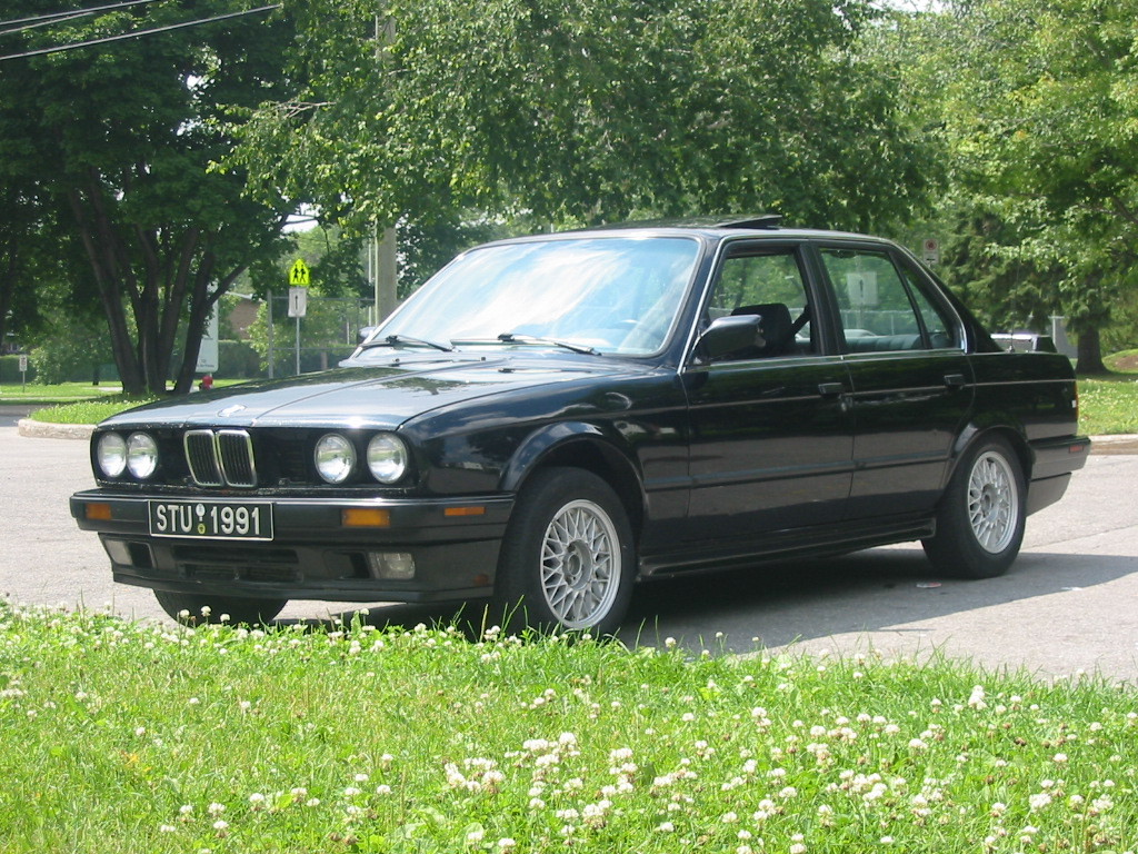 1990 Bmw 3 Series Information And Photos Zombiedrive