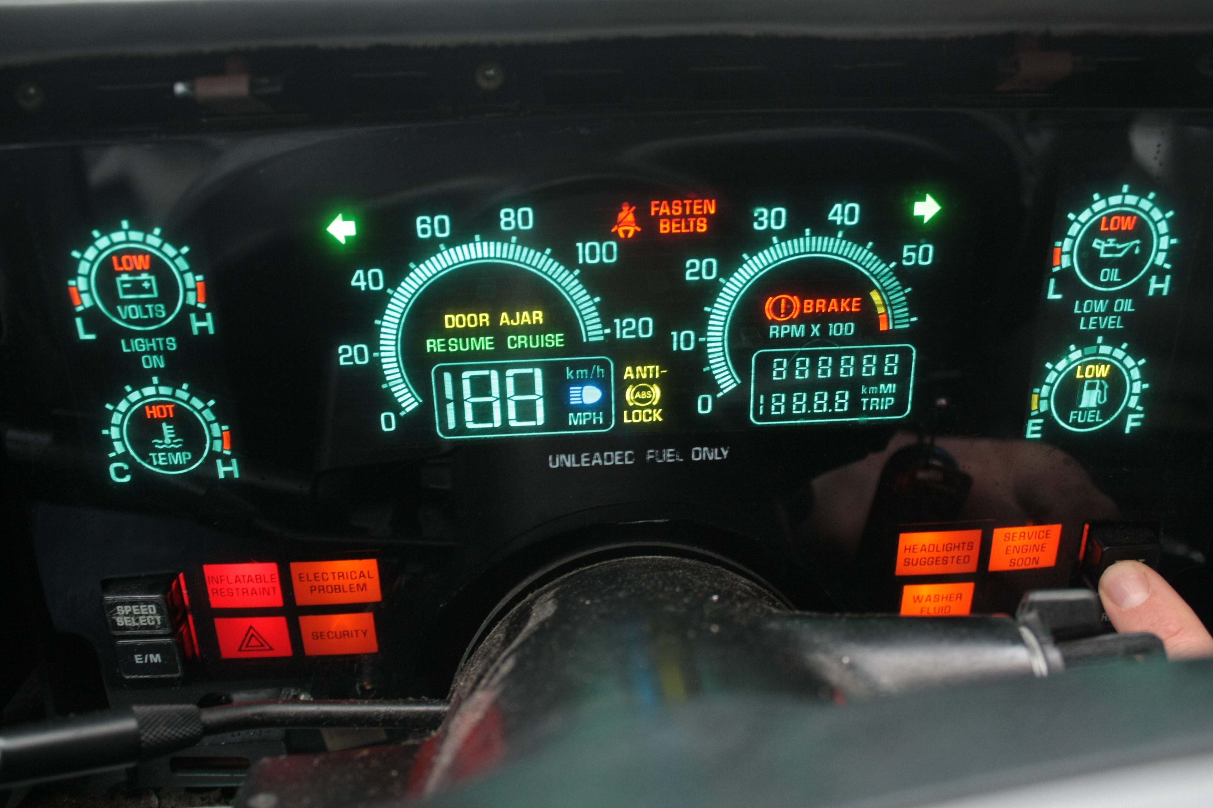 Early Valet Mode Switch Justrolledintotheshop 1991 Chevy S10 Obd1 Code Check Engine 1990 Buick Reatta