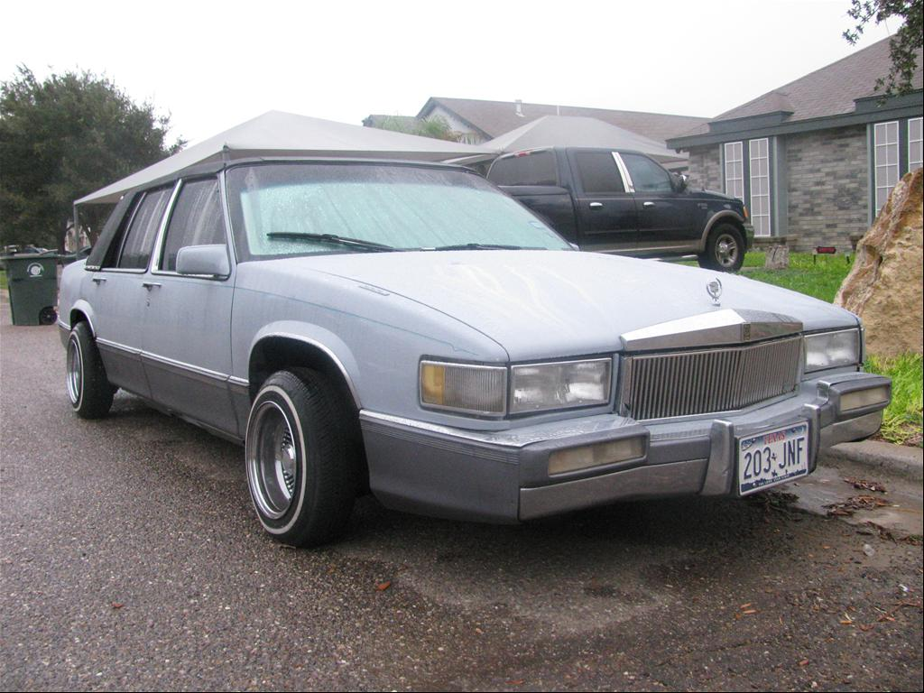 1990 Cadillac DeVille  Information and photos  ZombieDrive