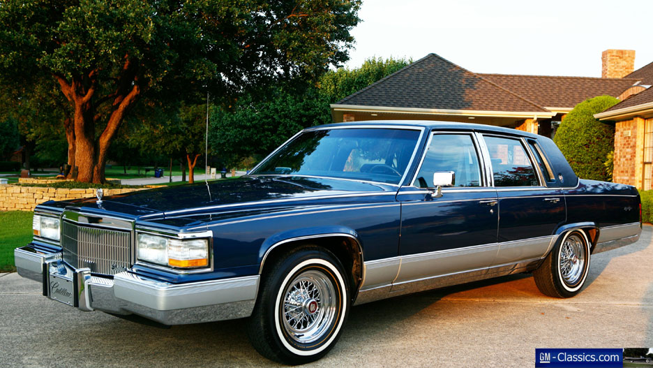 1990 Cadillac Fleetwood - Information and photos - ZombieDrive