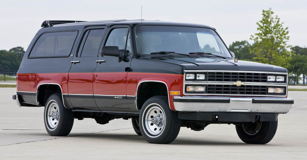 Chevrolet Suburban Photoreportage  Chevrolet  FORUM