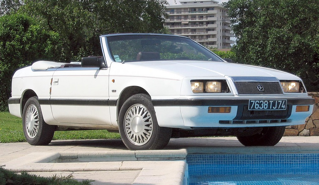 1990 Chrysler Le Baron - Information and photos - MOMENTcar