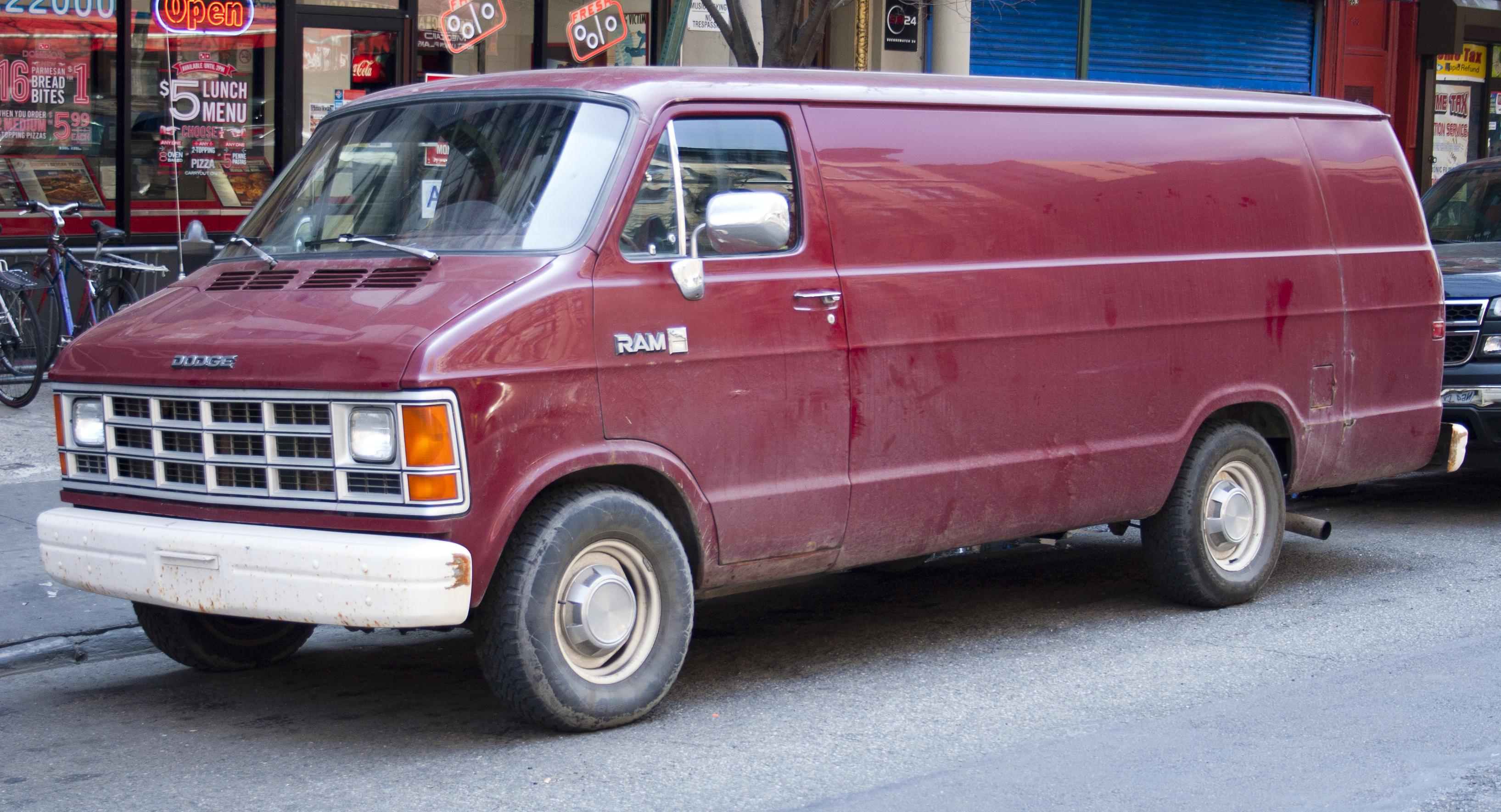 ... Dodge Ram Van #10
