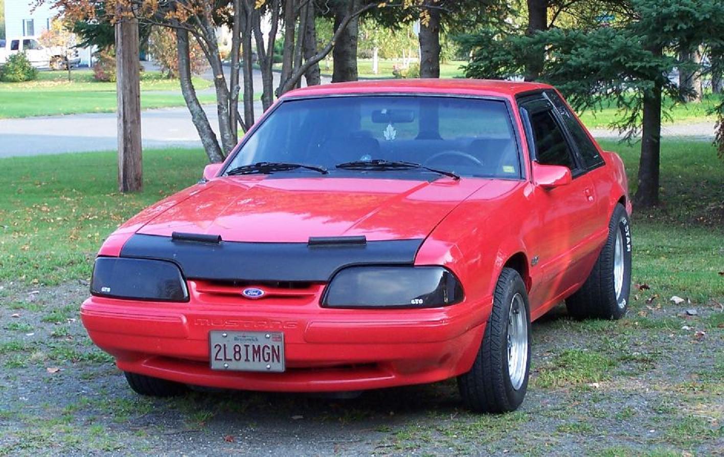 Форд мустанг 1990 фото