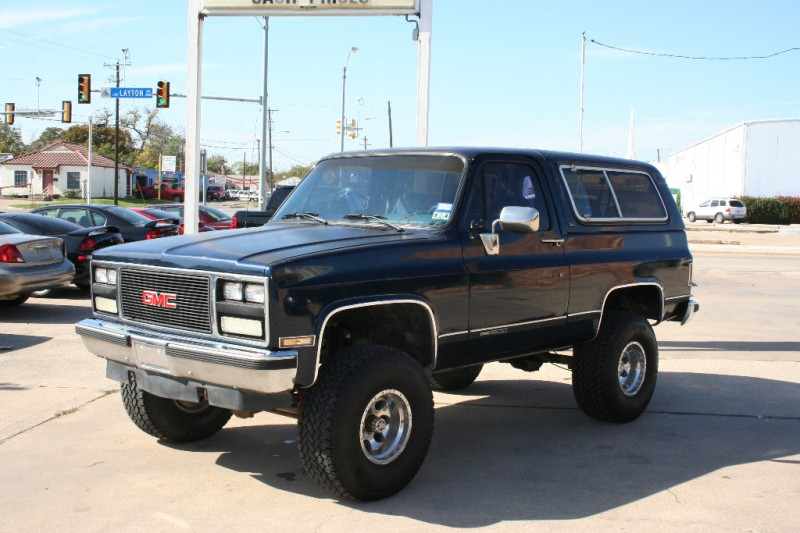 1990 Gmc Jimmy Image 9
