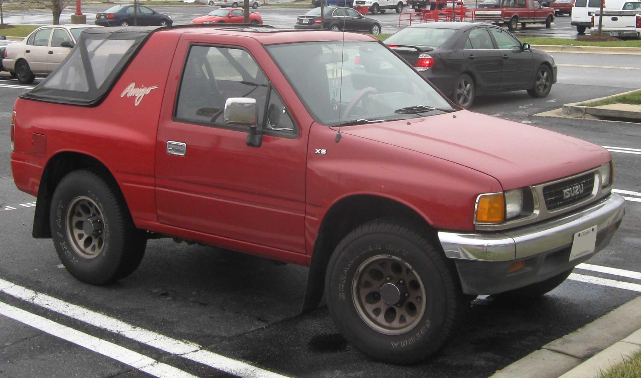 1990 Isuzu Amigo