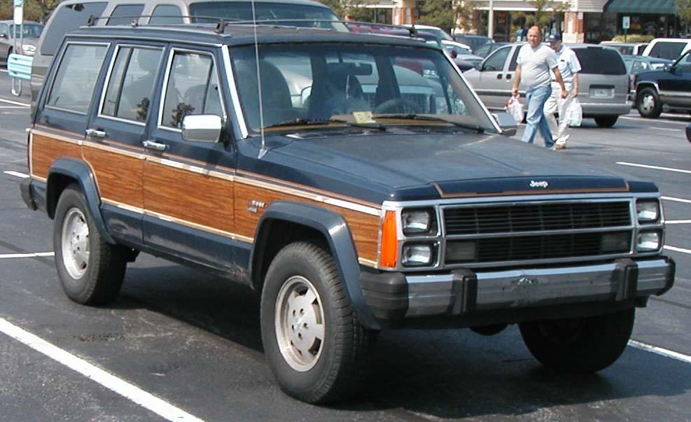 1990 Jeep Wagoneer #7 Jeep Wagoneer #7