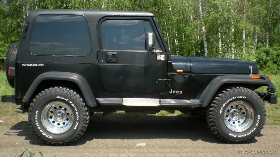 1990 Jeep Wrangler - Information and photos - Zomb Drive