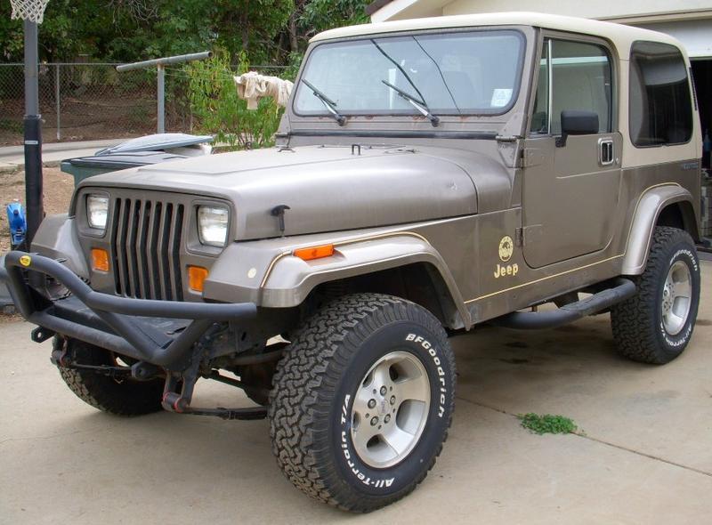 1990 Jeep Wrangler Image 8