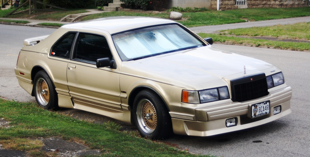 1990 Lincoln Mark Vii Information And Photos Zombiedrive