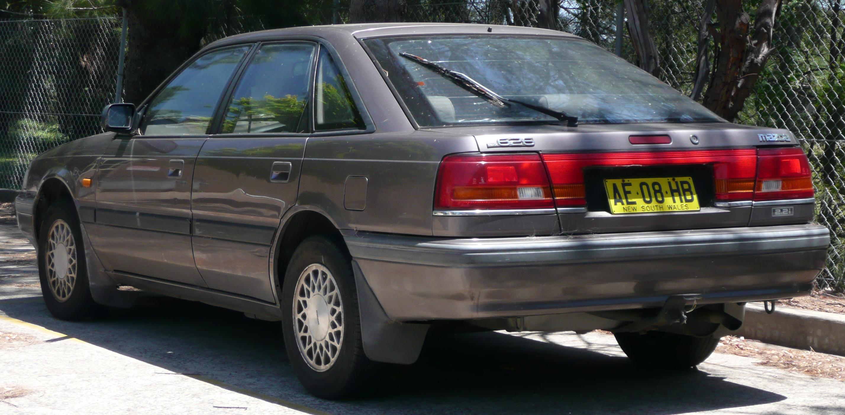 1990 Mazda 626 - Information and photos - ZombieDrive