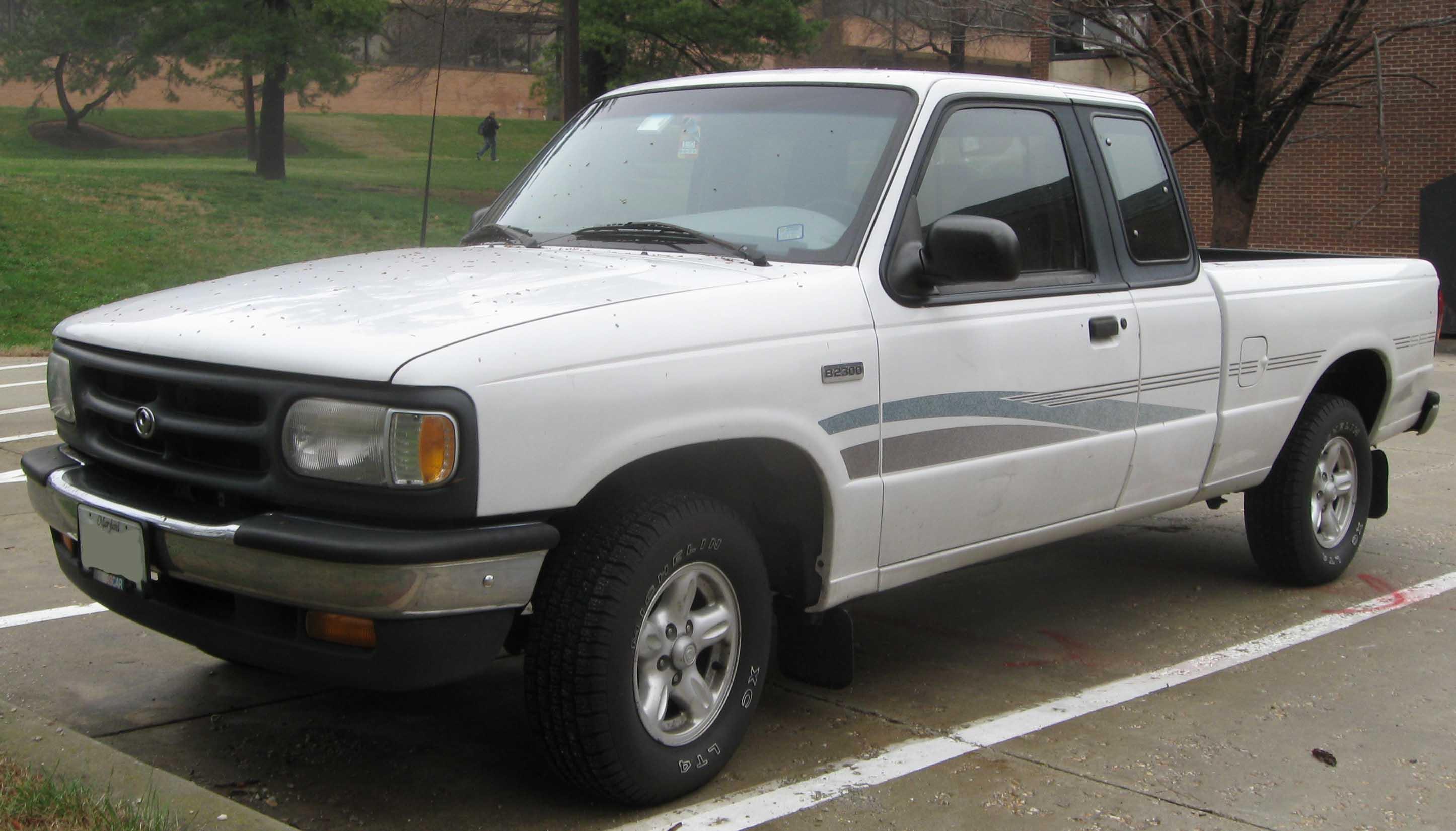 1990 Mazda B-Series Pickup - Information and photos - ZombieDrive