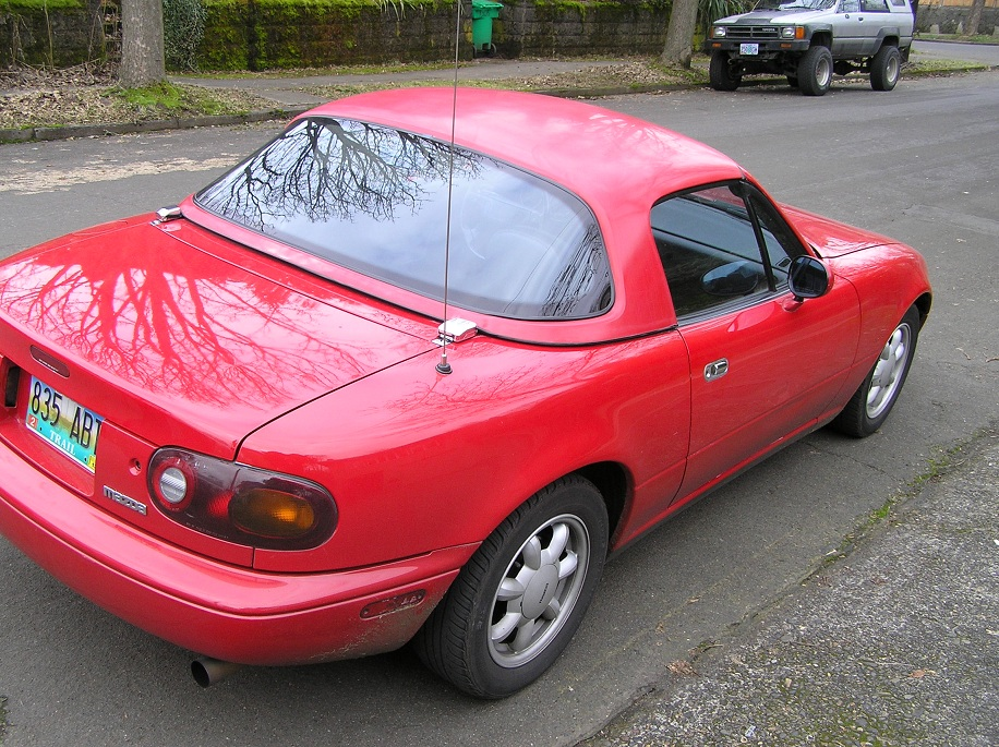 mx5 how to tell model