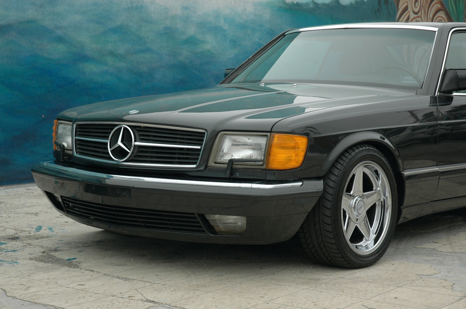 1990 mercedes benz 350 class information and photos zombiedrive. Black Bedroom Furniture Sets. Home Design Ideas