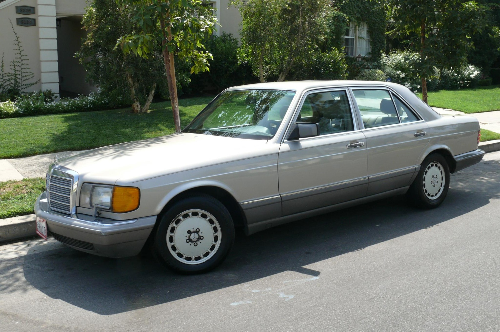 1990 Mercedes Benz 350 Class Information And Photos
