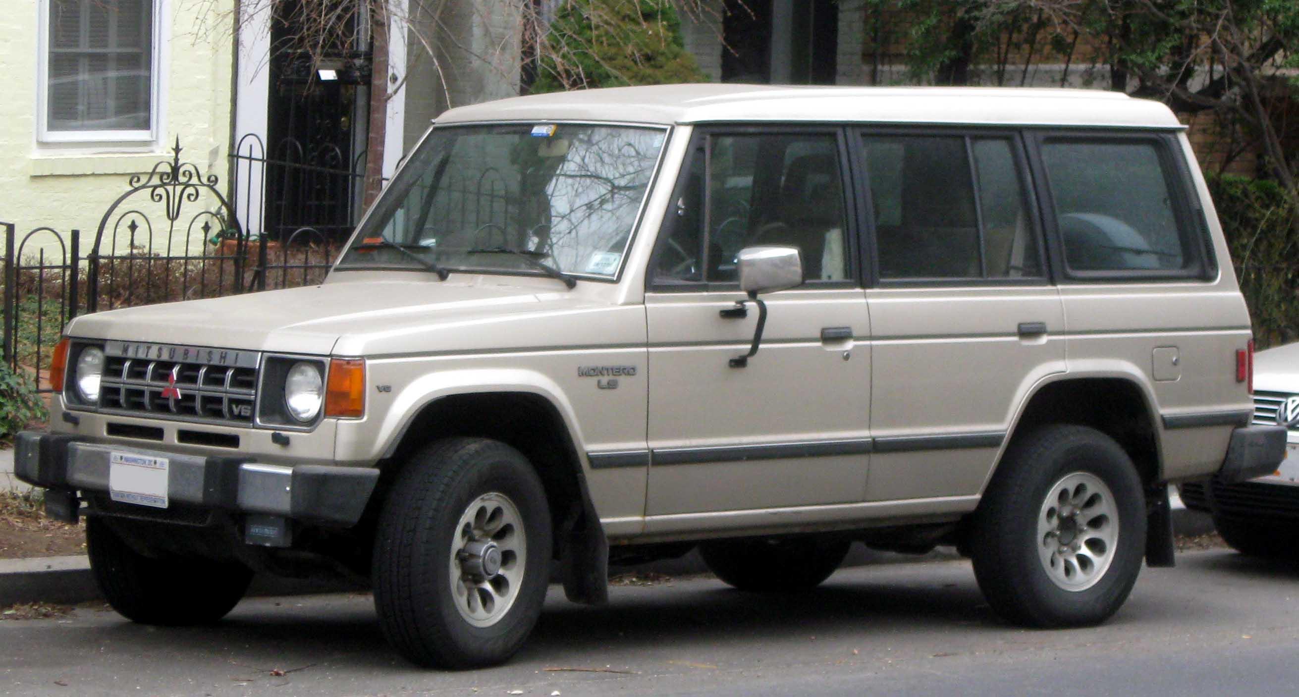 1990 mitsubishi montero 4 mitsubishi montero 4