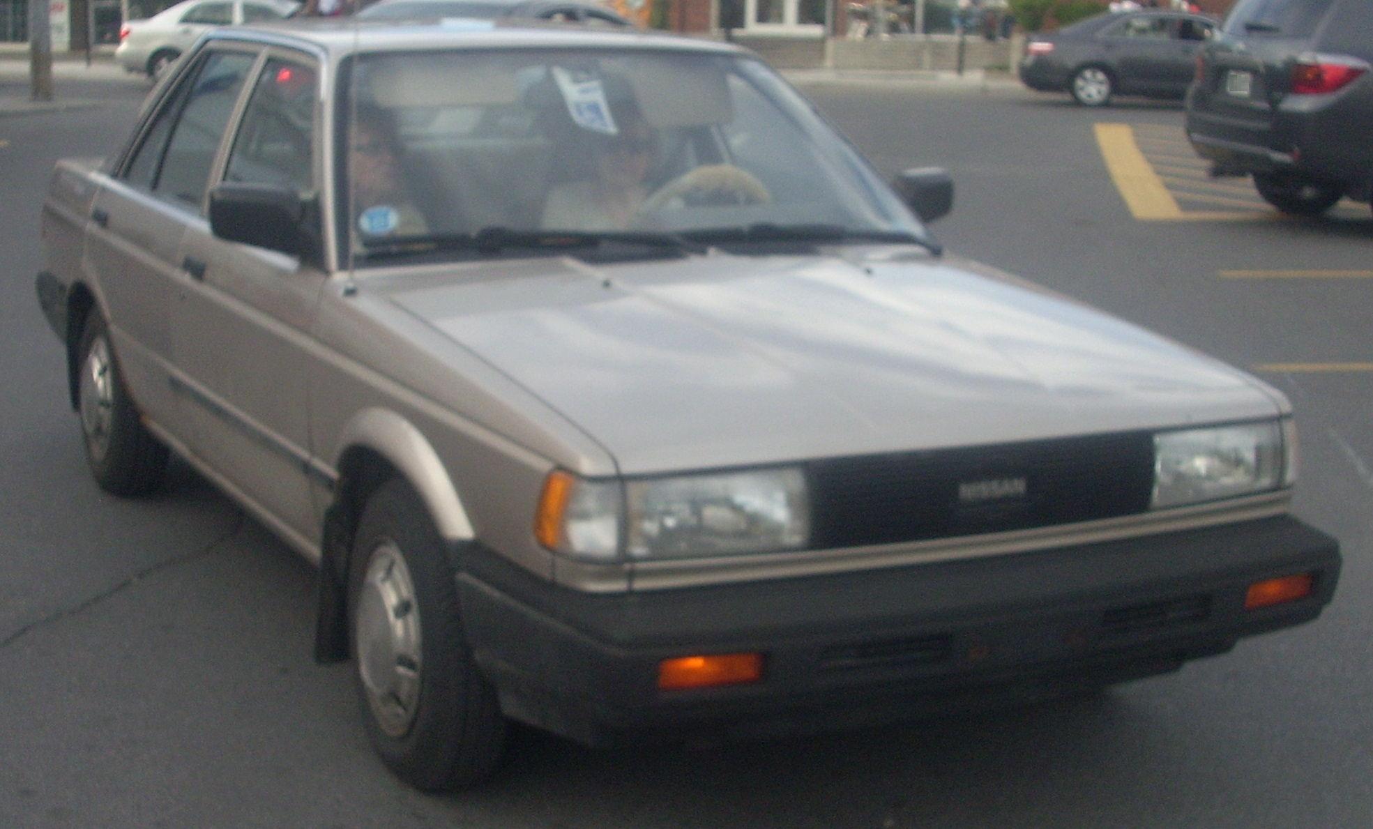 1990 nissan sentra information and photos zombiedrive rh zombdrive com nissan  sentra 1990 manual pdf nissan sentra 1990 manual pdf