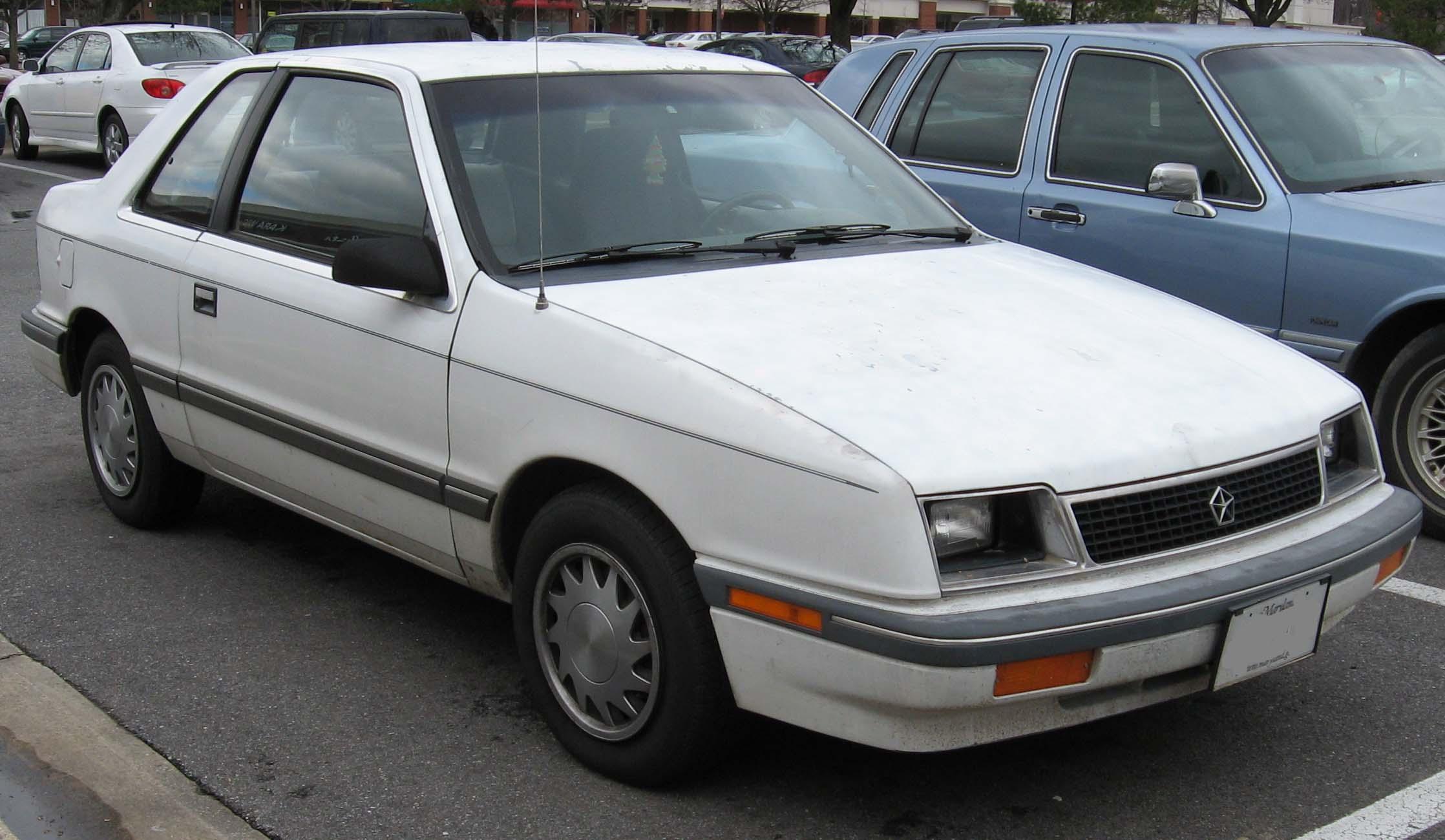 1990 Plymouth Sundance Information And Photos Zombiedrive Dodge Ram Fuse Box 9