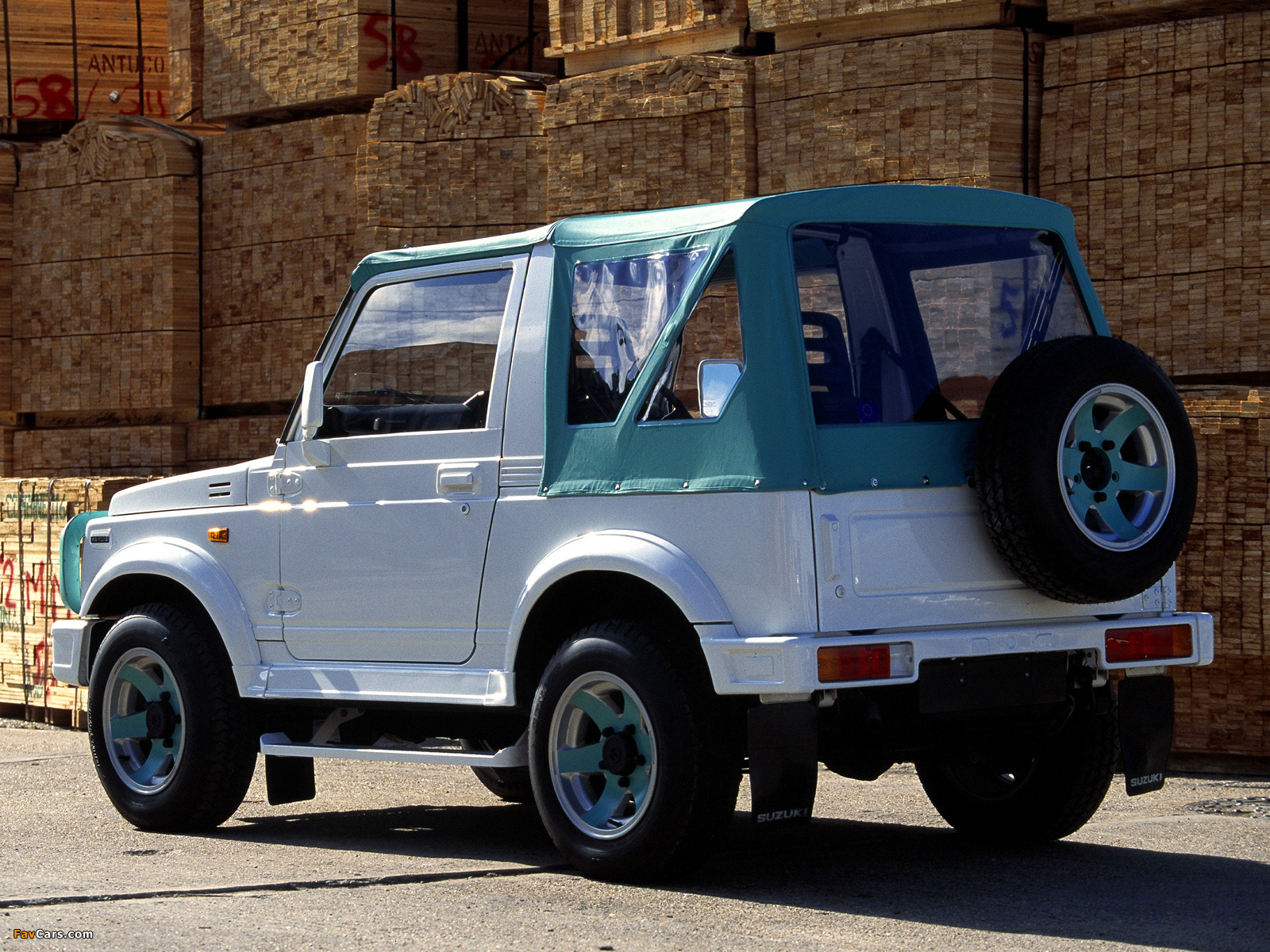 1990 Suzuki Samurai - Information And Photos