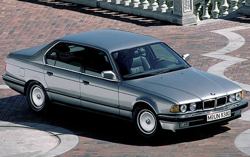 1990 BMW 7 Series 4 Dr 75 exterior #1