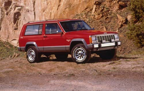 1990 Jeep Cherokee 4 Dr L exterior #3