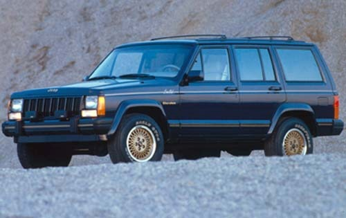 1990 Jeep Cherokee 4 Dr L exterior #2