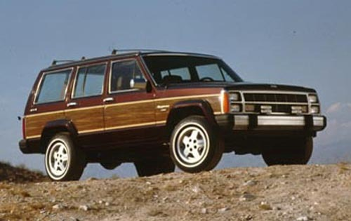 1990 Jeep Wagoneer 4 Dr L exterior #1