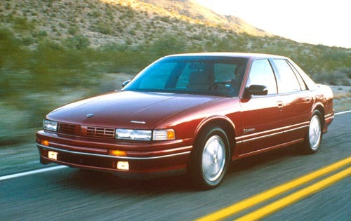 1990 Oldsmobile Cutlass S exterior #4
