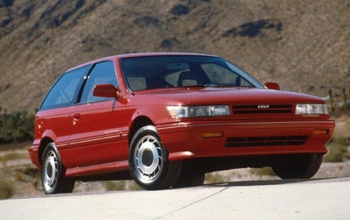 1990 Plymouth Colt 2 Dr G exterior #4