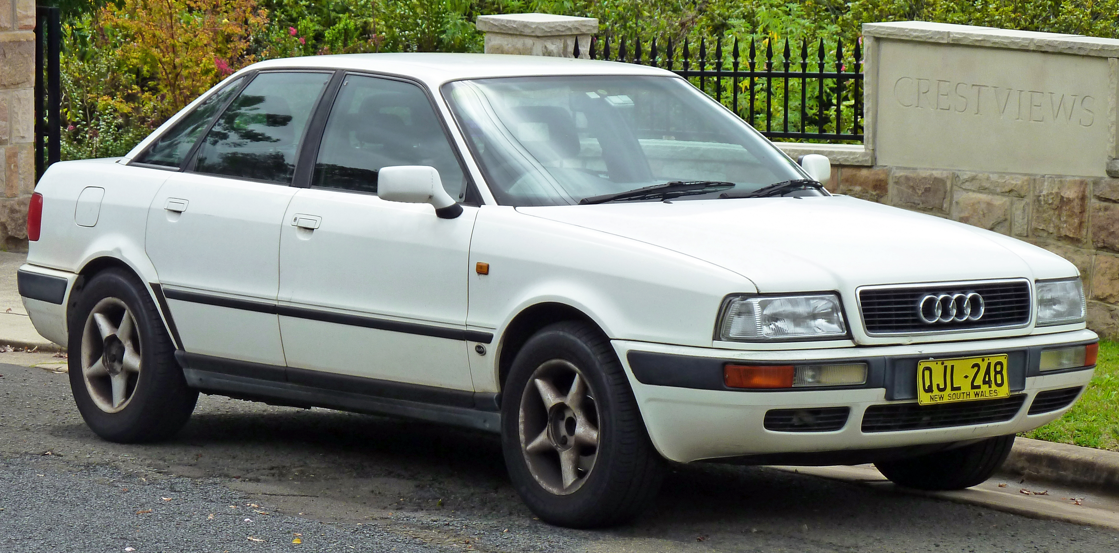 1991 Audi 80 - Information and photos - ZombieDrive