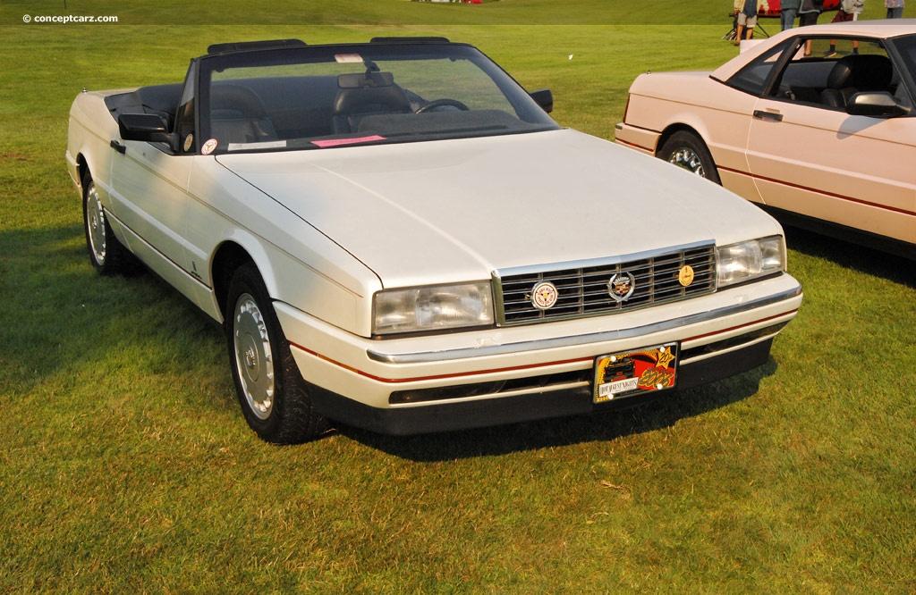1991 Cadillac Allante - Information and photos - ZombieDrive