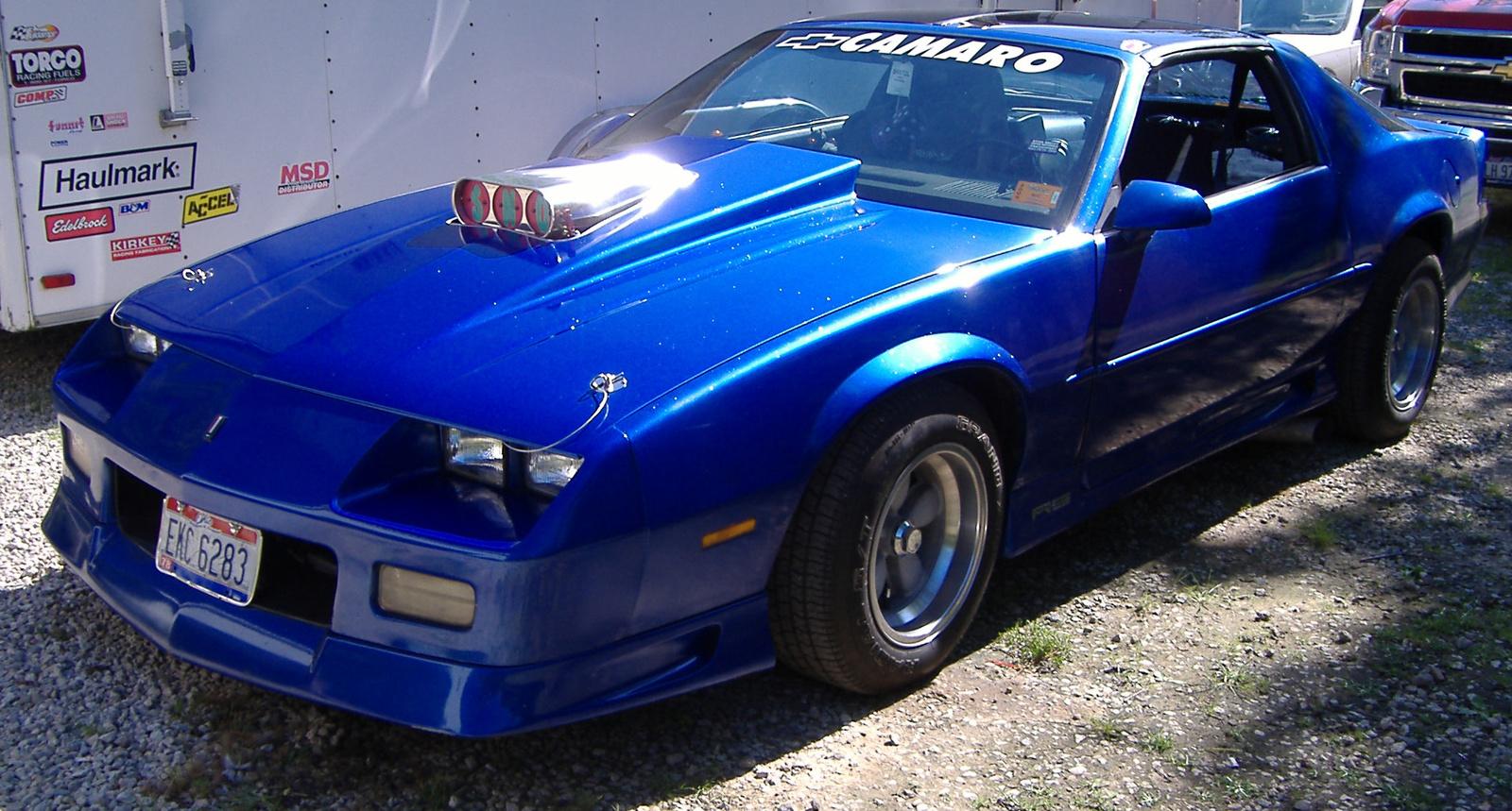 1991 Chevrolet Camaro  Information and photos  ZombieDrive