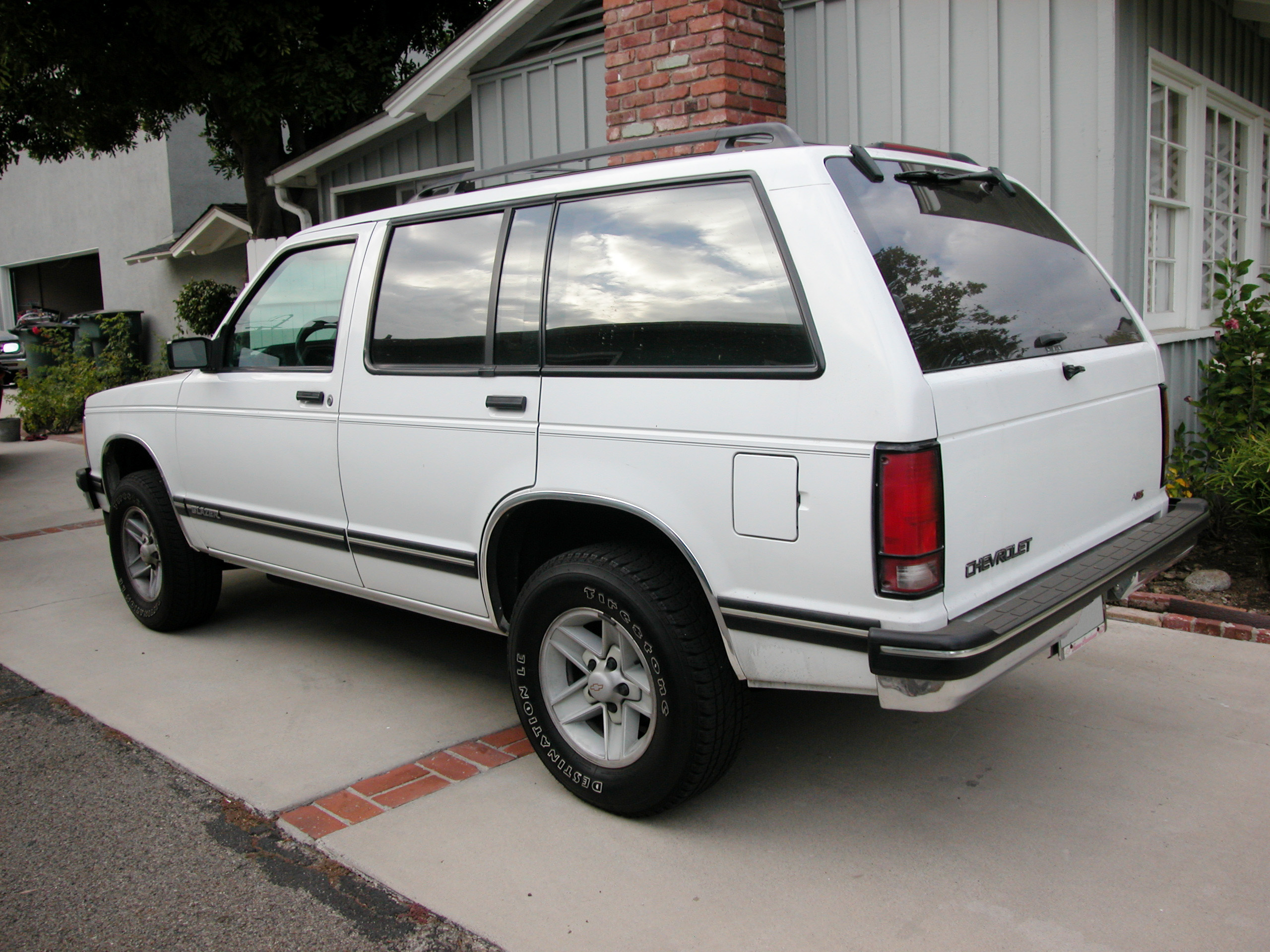 1991 Chevrolet S 10 Blazer Information And Photos Zombiedrive 1500 Wiring Diagram Free Download 1
