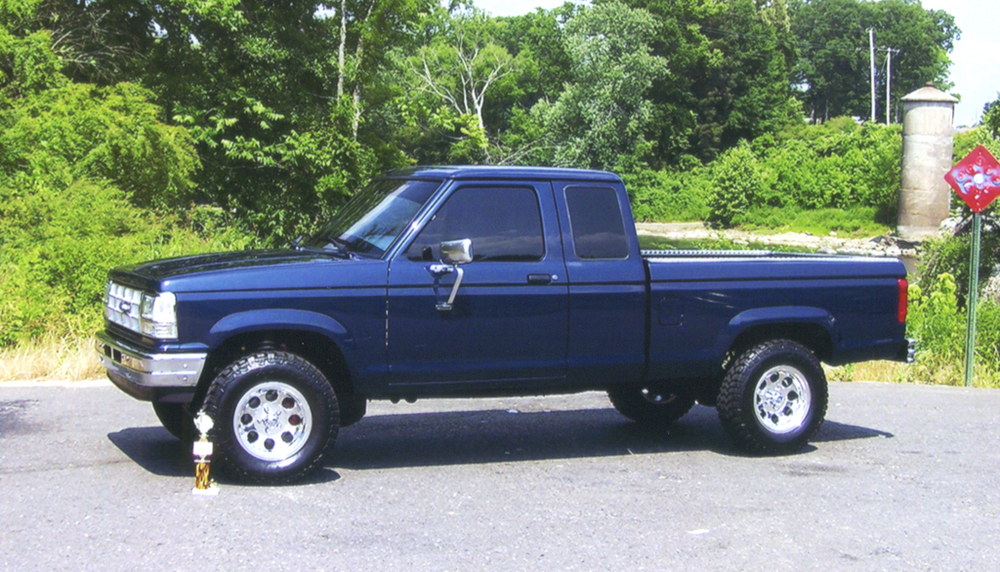 1991 Ford Ranger Information And Photos Zombiedrive