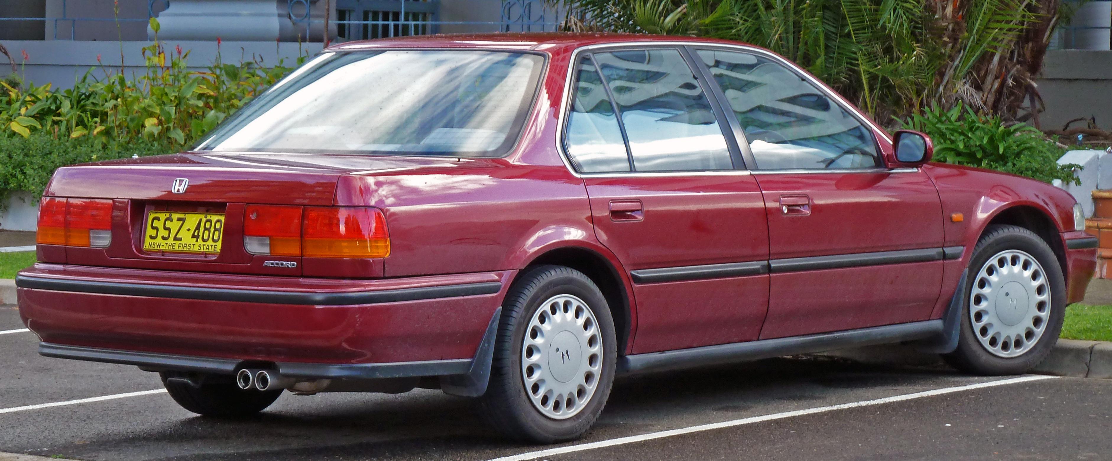 1991 Honda Accord #9 Honda Accord #9