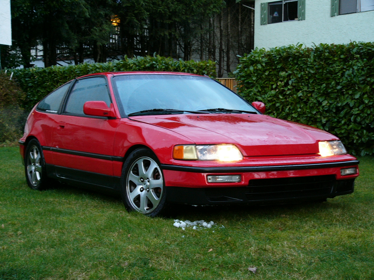 1991 Honda Civic CRX #1 Honda Civic CRX #1