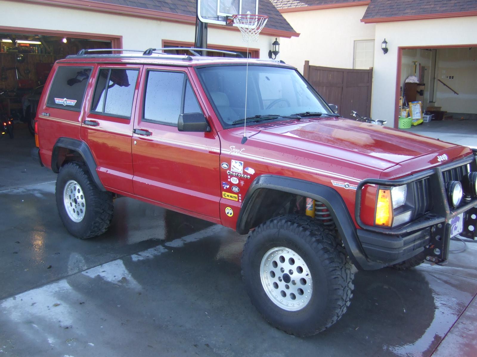 1991 jeep cherokee specs