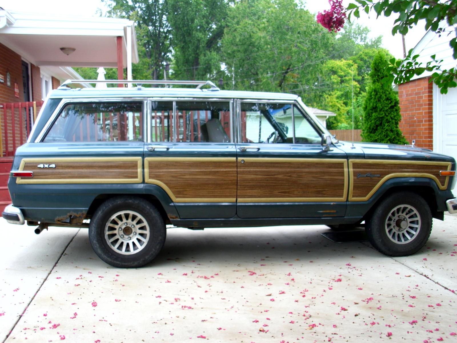 Jeep Grand Wagoneer >> 1991 JEEP GRAND WAGONEER - Image #5