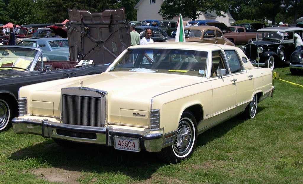 1991 lincoln continental image 1 for Lincoln motor company headquarters