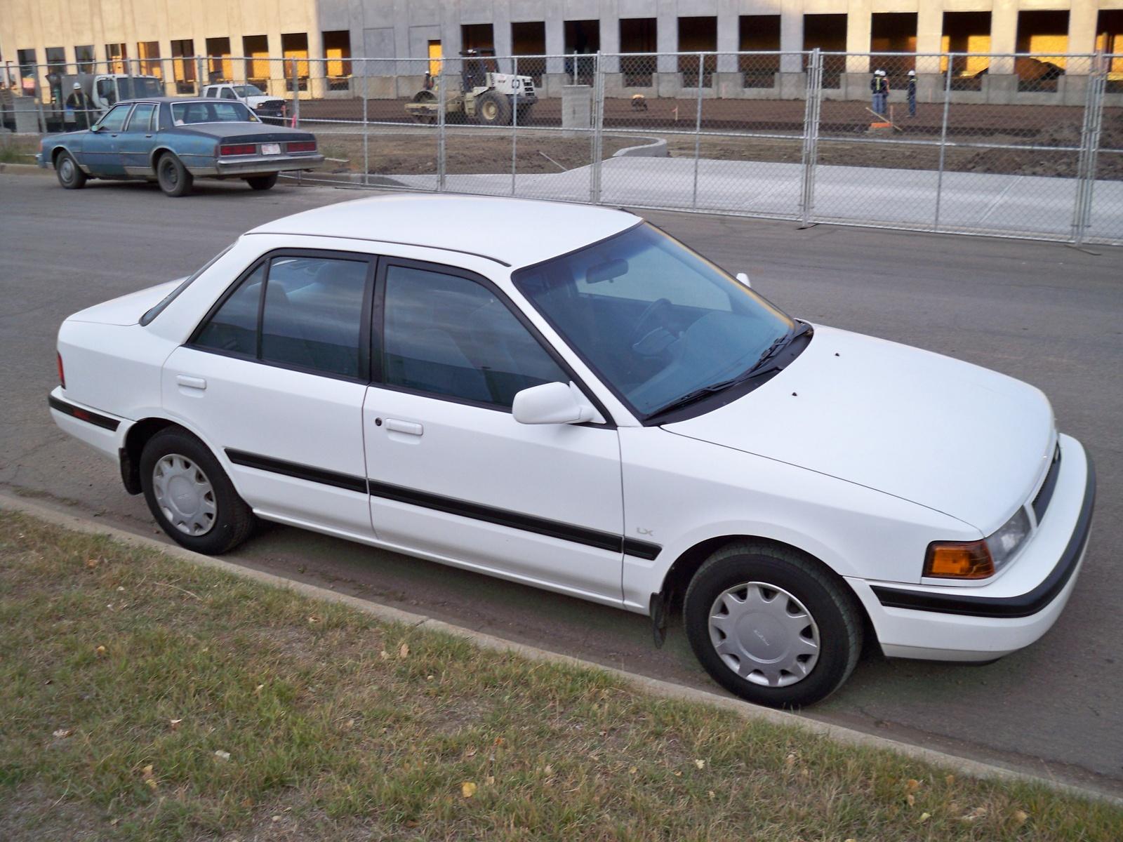 mazda protege 1992 blanco