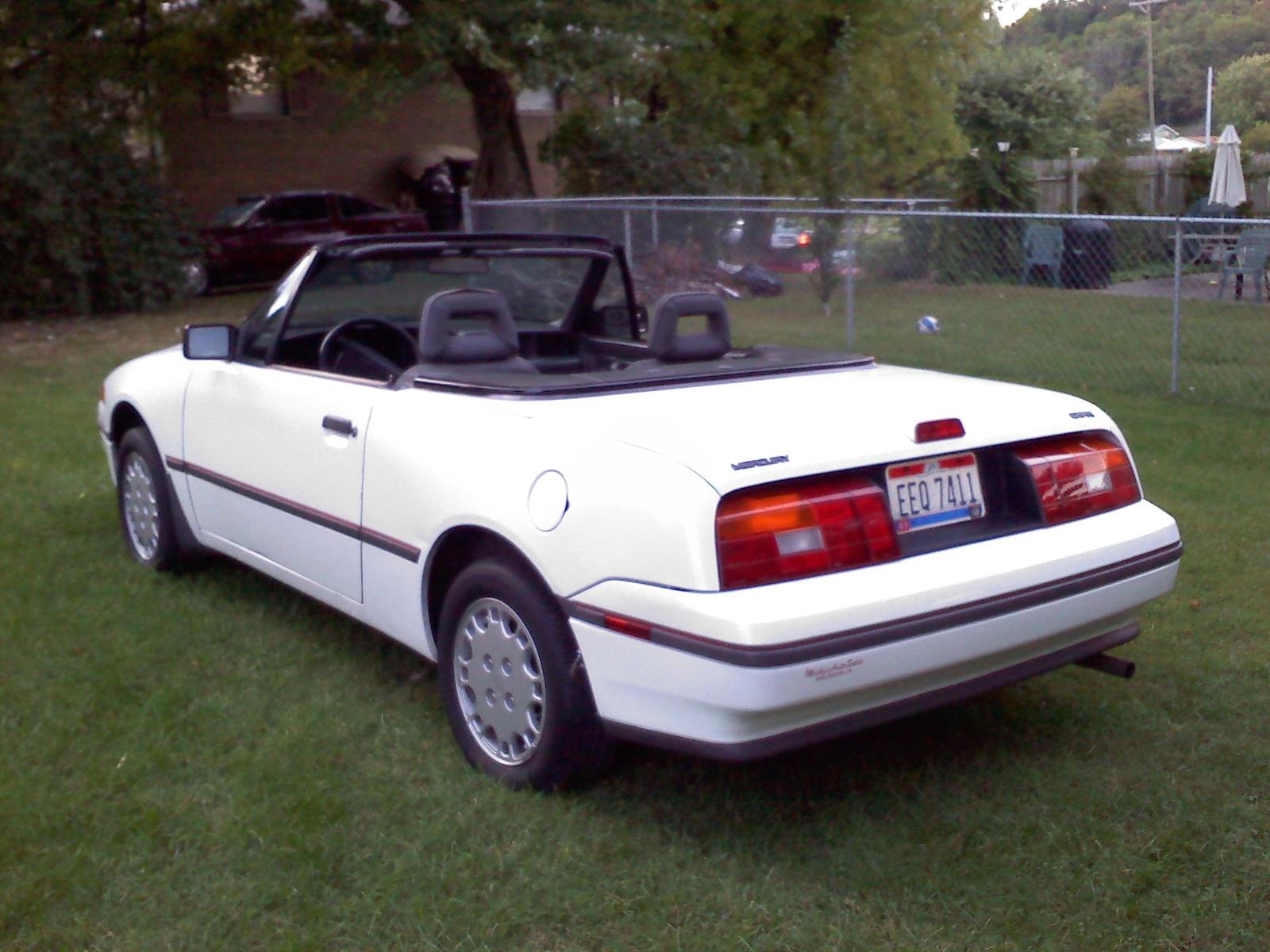 1991 Mercury Capri 8