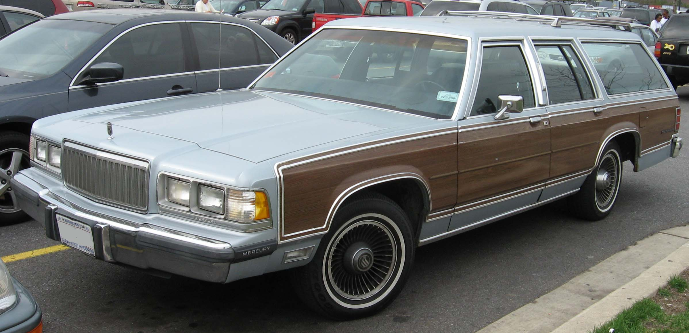 1991 Mercury Grand Marquis  Information and photos  ZombieDrive