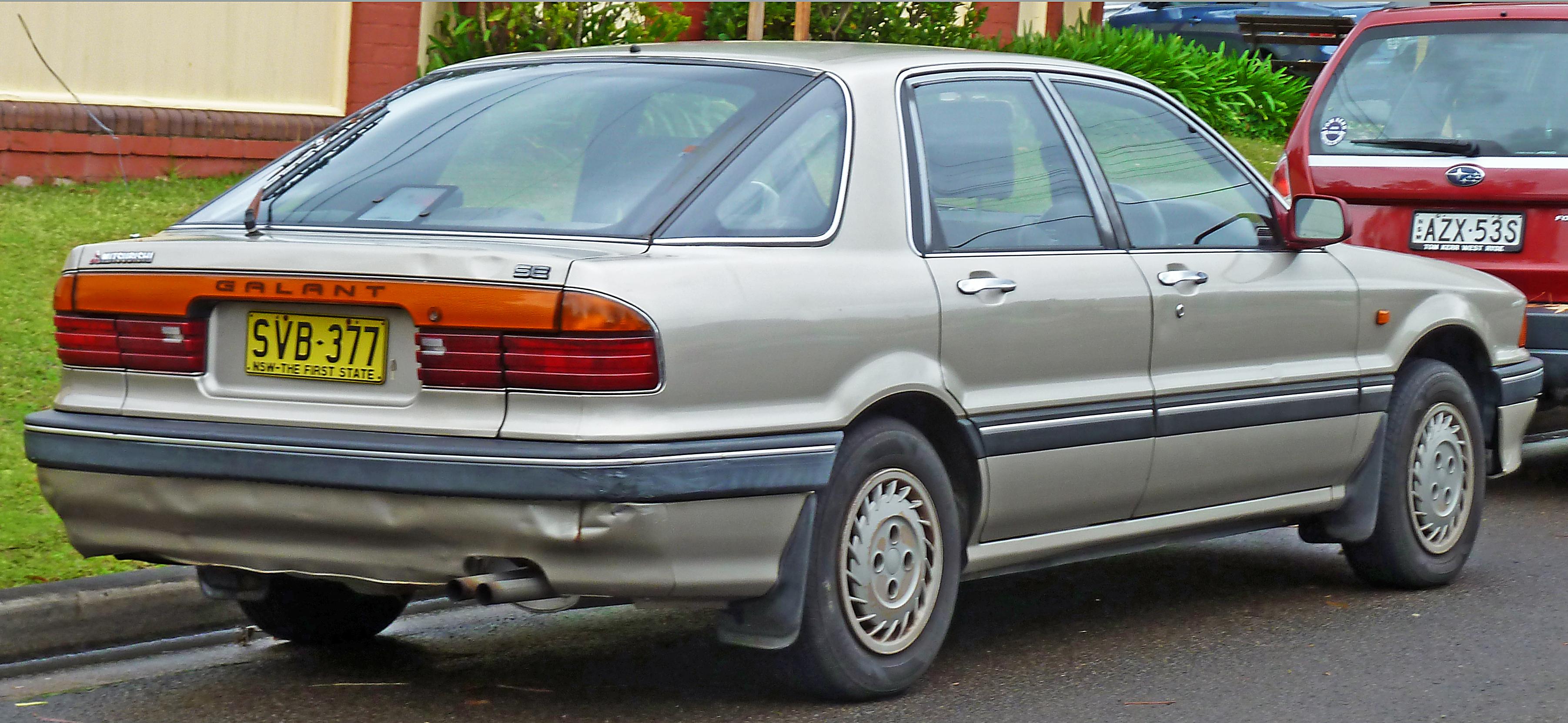 1991 Mitsubishi Galant Information And Photos Zombiedrive