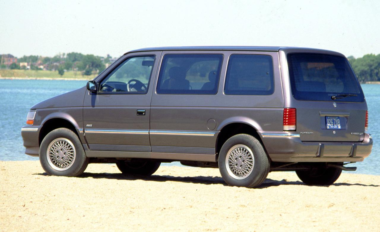 1991 Plymouth Voyager #4