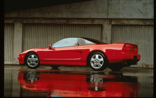 1999 Acura NSX-T 2 Dr Cou exterior #4