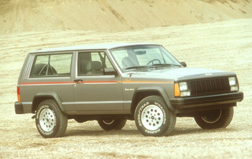 1991 Jeep Cherokee 4 Dr B exterior #4