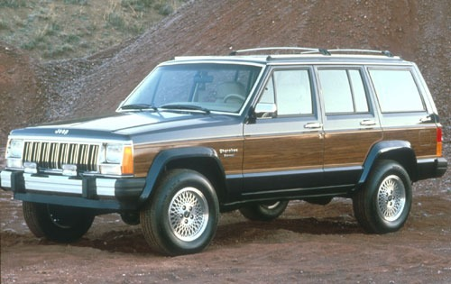 1991 Jeep Cherokee 4 Dr B exterior #3