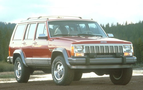 1991 Jeep Cherokee 4 Dr B exterior #2