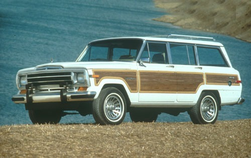 1991 Jeep Grand Wagoneer  exterior #1