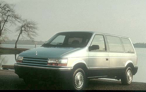 1991 Plymouth Voyager 2 D exterior #1